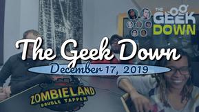 Geek Down 12-17-19 - Zombieland Double Tapper, Nancy Drew, Second Coming