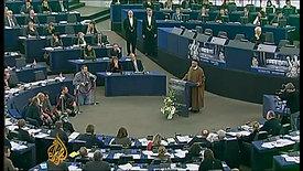 EU parliament awards Arab Spring activists Sakharov Prize