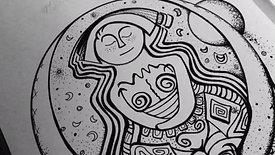Diseños inspiradores para colorear las Antiguas Diosas