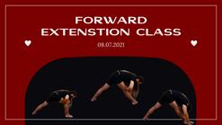 Forward extenstion class. 08.07.2021