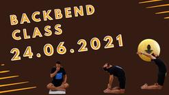 Backbend class 27.04.2021