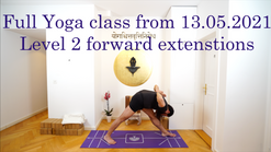 Forward extension and Pranayama Level 2 classclass