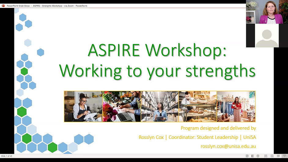 ASPIRE - Strengths Workshop Video