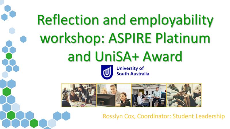 Reflection and employability workshop - November 2020