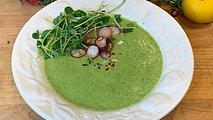 Namaset Cafe - Asparagus and Roasted Radish Soup