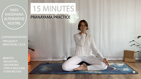 Pranayama with Chloe - Nadi Shodhana