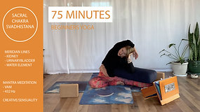 Yin Yoga Chakra Series - Sacral Chakra