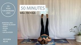 Yin Yoga with Chloe - Wall Yin