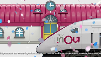 LES IMPRODUCTIBLES - SNCF TGV INOUI TOY STORY - MIX TVC