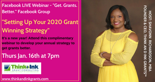 Setting Up Your 2020 Grant Winning Strategy
