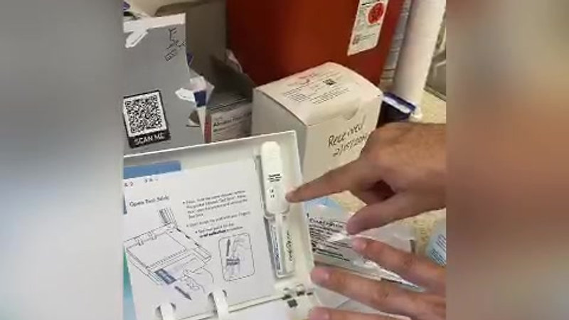 FAHASS HIV Test Kit Demonstration