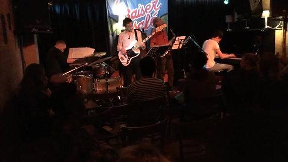 Florian Gustave Quartet au Baiser Salee Mc Coy Tyner Mazouk