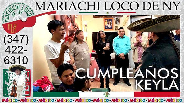 SWEET 15 Keyla - El mejor mariachi de New York - Mariachi Loco de NY (347) 422-6310