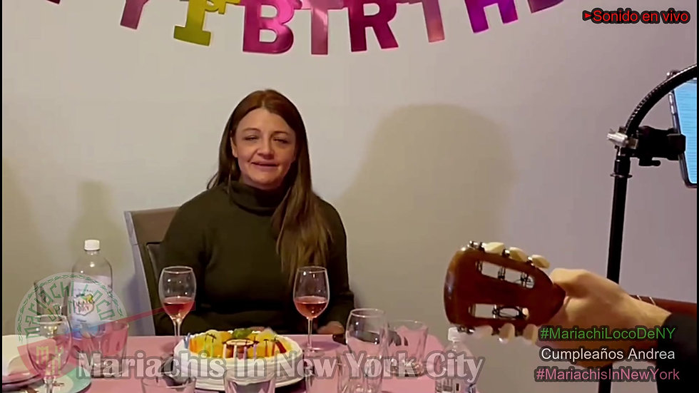 Cumpleaños Andrea