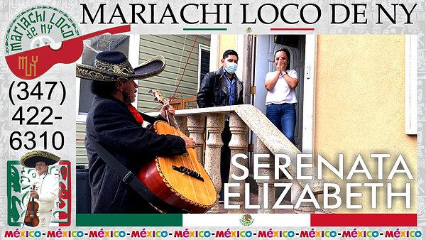 Serenata Sorpresa Elizabeth - El mejor mariachi de New York - Mariachi Loco de NY (347) 422-6310