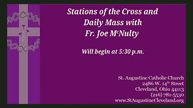 Stations of the Cross and Daily Mass