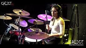Toxicity | Sistem of a down | DrumCover By Gabriela Garcia | Drummer | Academia de Música Calice en La Molina y Ate