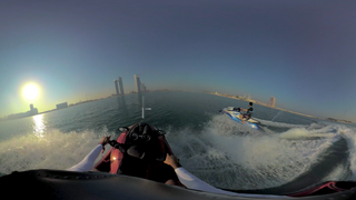Plunge into a watersports adventure #InAbuDhabi
