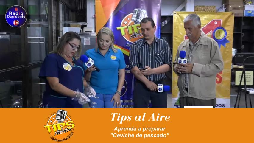 Tips al aire, Aprenda a preparar ceviche