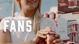 "Dr Pepper ""First Fans"""