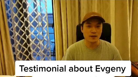 Testimonial from Ming X., Shanghai China