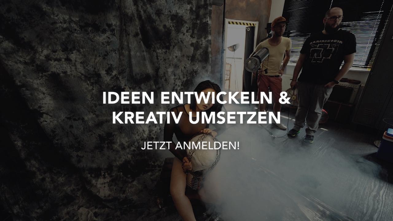 Workshop: Portraitfotos nach kreativ Konzept