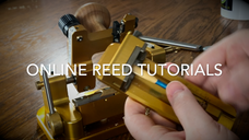 Reed tutorial Preview