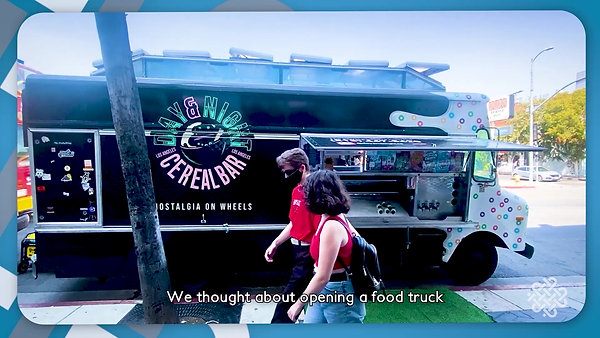 Inside Day & Night Exotic Cereal Bar (A Food Truck Serving 'Nostalgia On Wheels')
