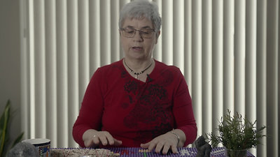 Brenda Collins V1 Drawing - 7 Grandfather Teachings Introduction