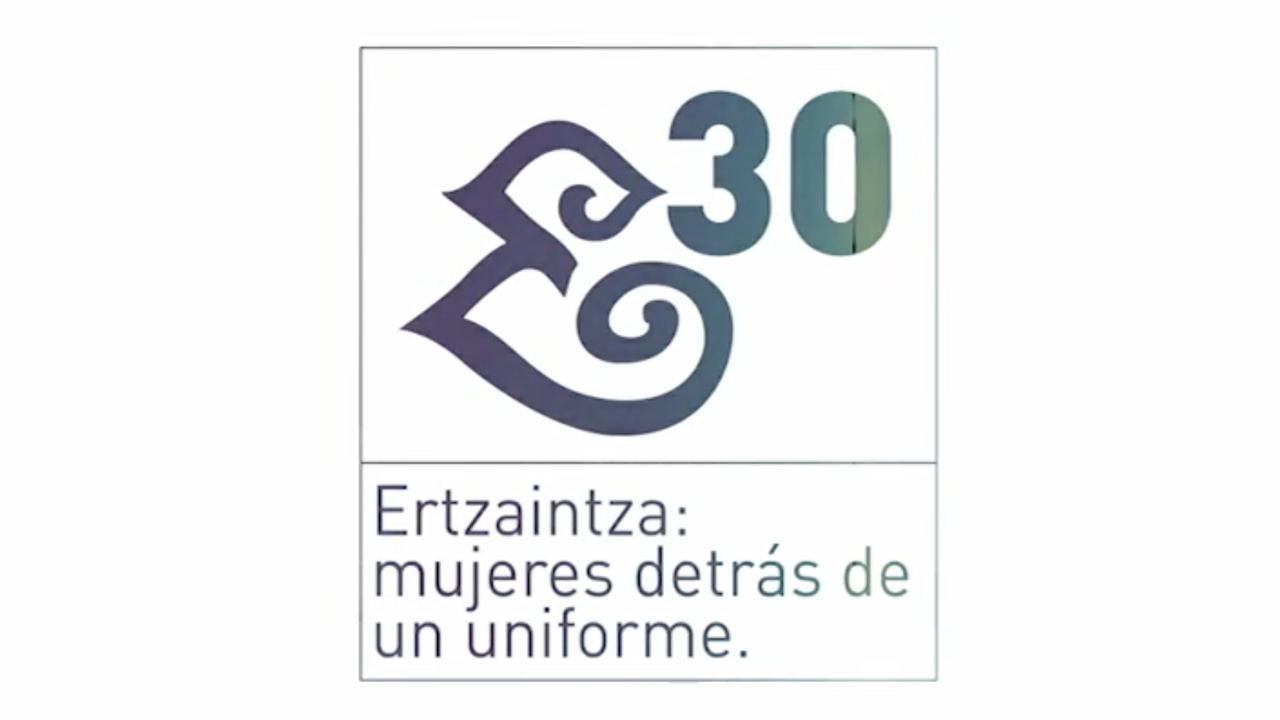Ertzaintza: mujeres detrás del uniforme
