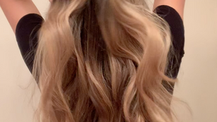 "1 1/4"" Curling Iron Waves Tutorial"