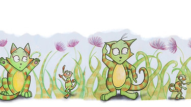 Chameleon Cat Movie Book