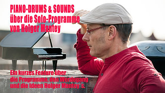 Piano Drums & Sounds HOLGER MANTEY