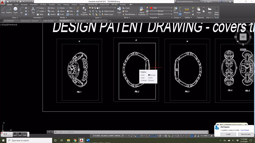 UTILITY AND DESIGN DRAWING VIDEO