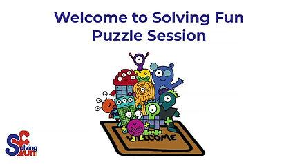 Solving Fun Virtual Sessions