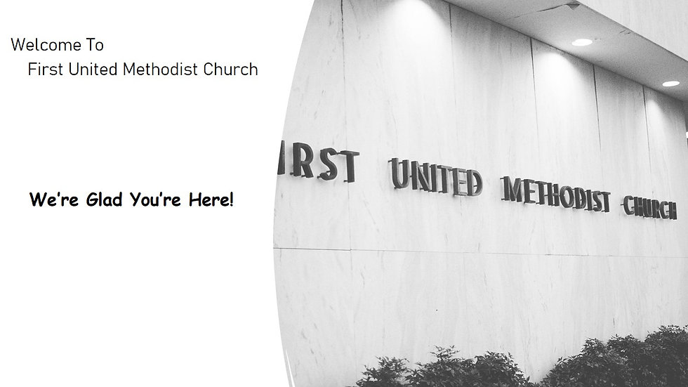 FUMC Morning Worship Services