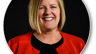 Linda Yoder, Chair of Crossroads' Health and Wellness Committee