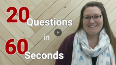 20 Questions with Jessica Province