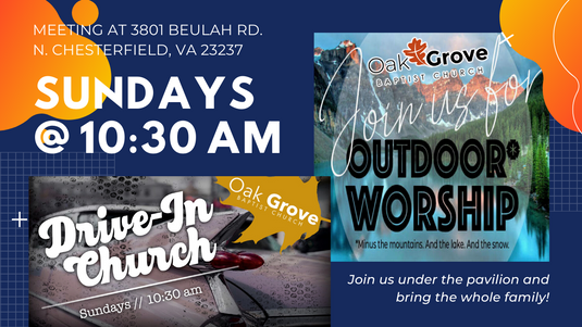OGBC Drive-In & Outdoor Worship (June 7, 2020)