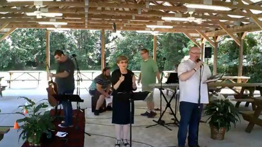 Drive-In & Outdoor Worship at OGBC (June 14, 2020)