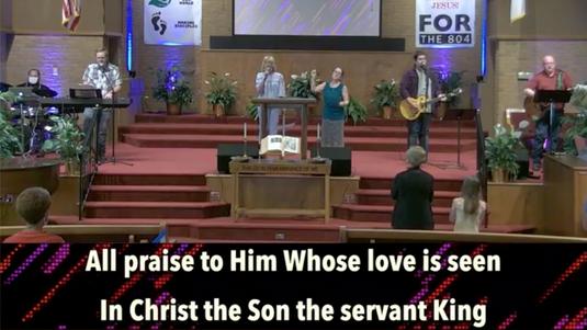 Sunday Morning Worship at OGBC (July 26, 2020)