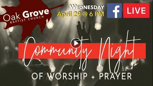 Wednesday Night LIVE! at OGBC (April 29, 2020)