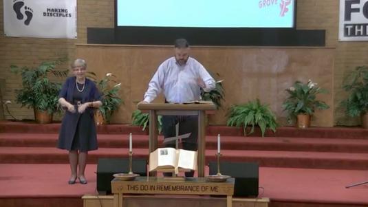 Sunday Morning Worship @ OGBC (August 9, 2020)