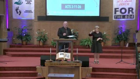 Sunday Morning Worship @ OGBC (August 2, 2020)
