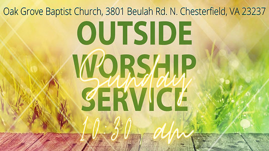 Outdoor Worship at the OGBC Drive-In (Sept. 27, 2020)