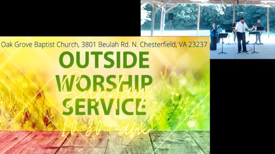 OGBC Outdoor Worship Service (September 6, 2020)