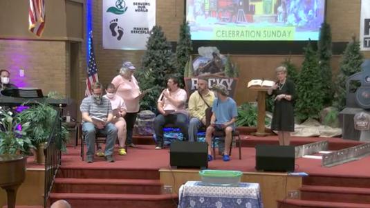 VBS Celebration Sunday Worship at OGBC (July 19, 2020)
