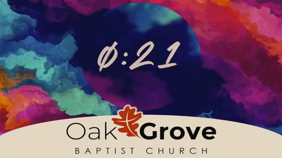 Online Worship at OGBC (March 22, 2020)