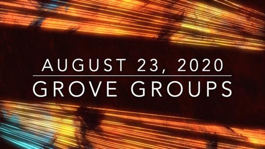 GroveGroups Sunday School Lesson (August 23, 2020)