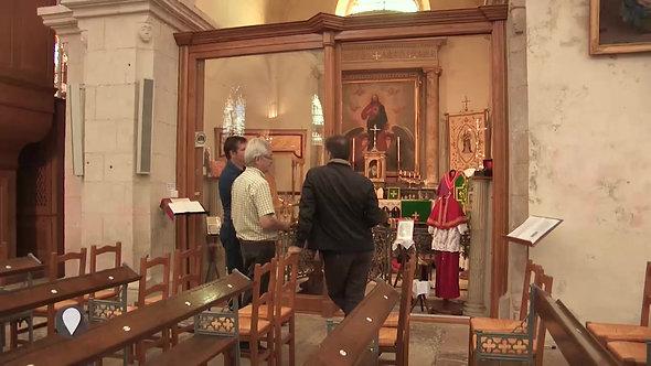 L'église Notre Dame Saint-Loup